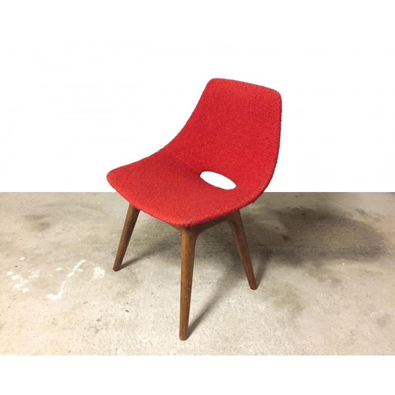 chaise tonneau du designer pierre guariche. Black Bedroom Furniture Sets. Home Design Ideas