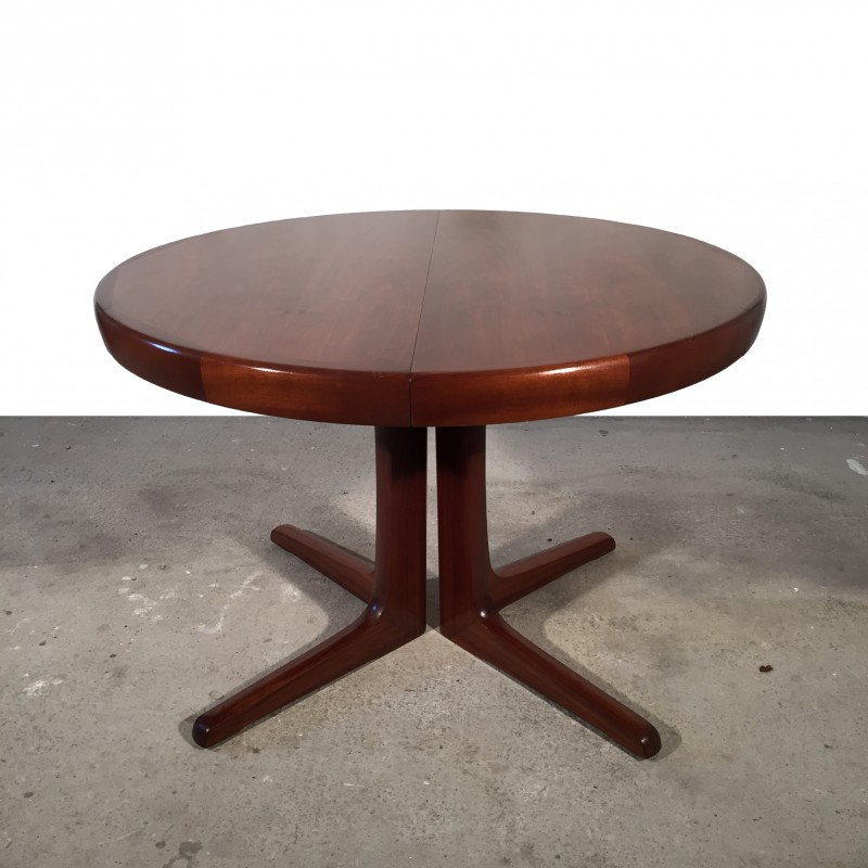 Table Ronde Scandinave Extensible.Table Ronde Scandinave Extensible 1960 Brockeur