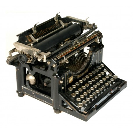 Machine crire vintage marque underwood - Machine a ecrire underwood ...